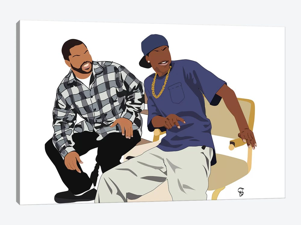 Friday by GNODpop 1-piece Art Print
