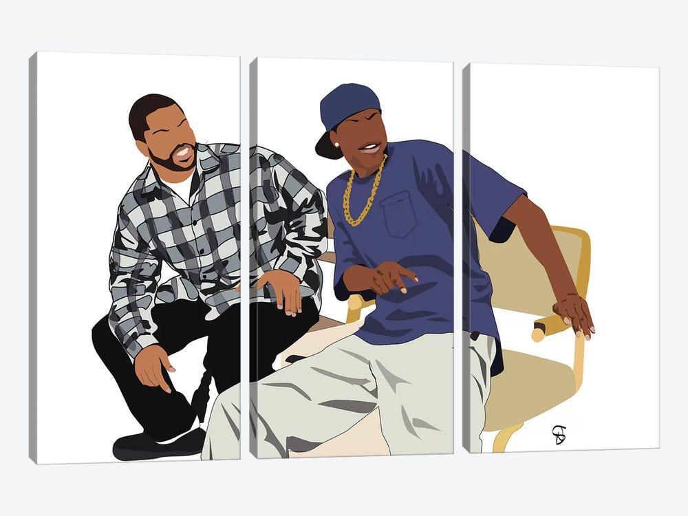 Friday by GNODpop 3-piece Art Print
