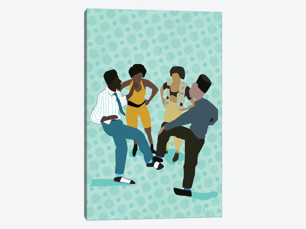 House Party by GNODpop 1-piece Canvas Art Print