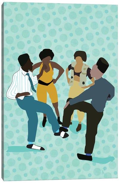 House Party Canvas Art Print