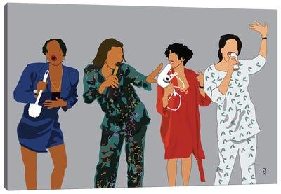 Living Single Canvas Art Print