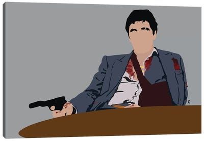 Scarface Canvas Art Print