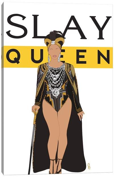Slay Queen Beyonce Canvas Art Print