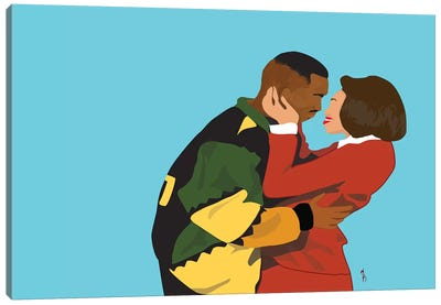 This Kind Of Love - Martin And Gina Canvas Art Print