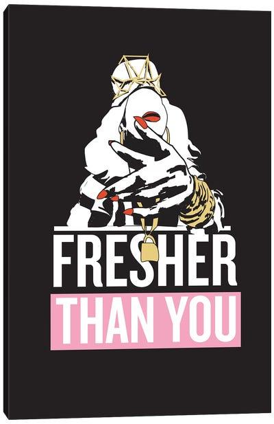 Yonce - Fresher Than You Canvas Art Print