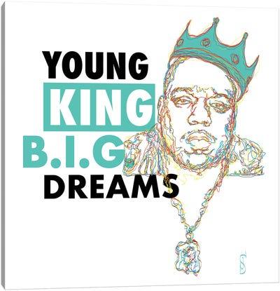 B.I.G. Dreams Canvas Art Print