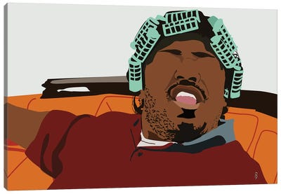 Big Worm - Emotions Canvas Art Print