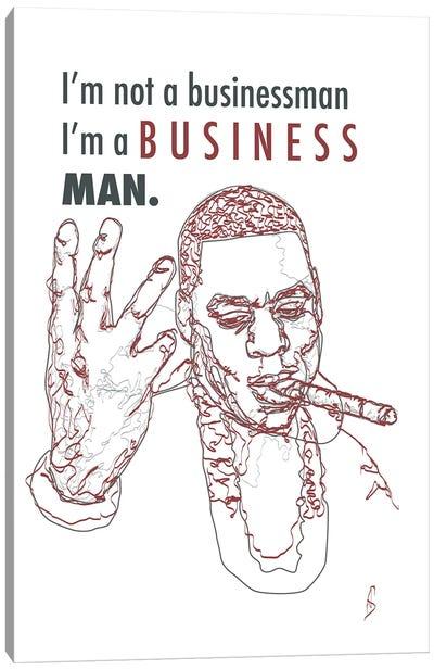Jay-Z - Business Man Canvas Art Print