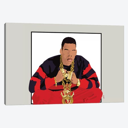 Jay-Z - I Will Not Lose Canvas Print #GND44} by GNODpop Canvas Print
