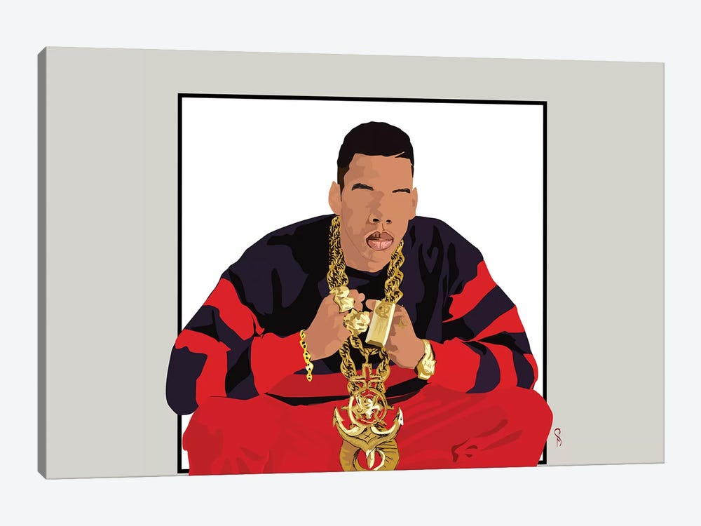 Jay-Z - I Will Not Lose by GNODpop 1-piece Canvas Art Print