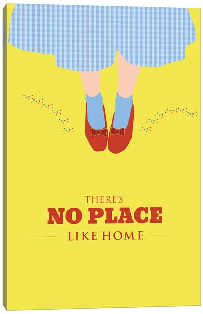 No Place Like Home Canvas Art Print