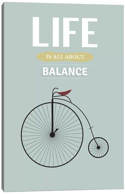 Balance Canvas Art Print