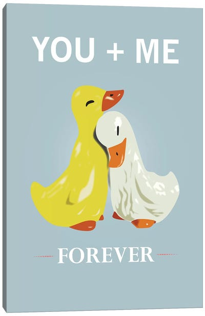 You And Me Canvas Art Print