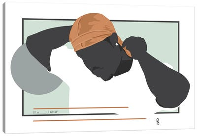 If You Know - Ode To The Durag II Canvas Art Print