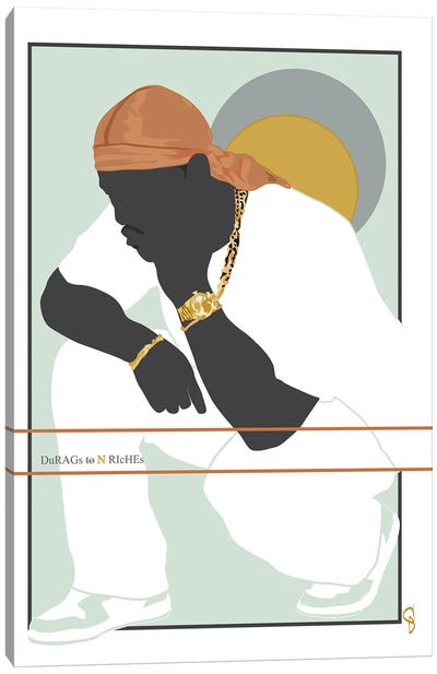 Durags N Riches - Ode To The Durag III Canvas Art Print
