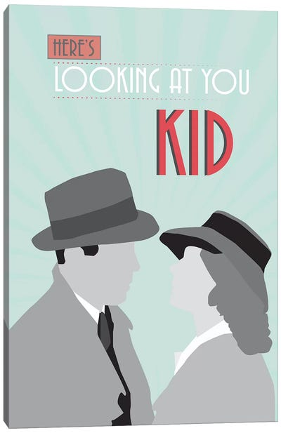 Casablanca - Looking At You Canvas Art Print