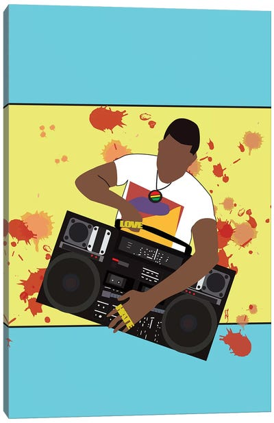 Do The Right Thing - Radio Raheem Canvas Art Print