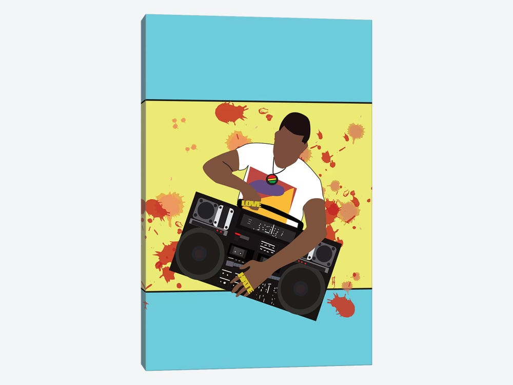 Do The Right Thing - Radio Raheem by GNODpop 1-piece Canvas Print