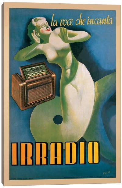 Irradio Canvas Art Print