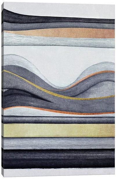 Trippy Landscape VI Canvas Art Print