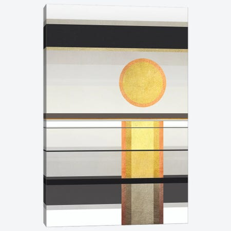 Geometric Trippy Landscape 1 3-Piece Canvas #GNZ103} by Marco Gonzalez Canvas Wall Art