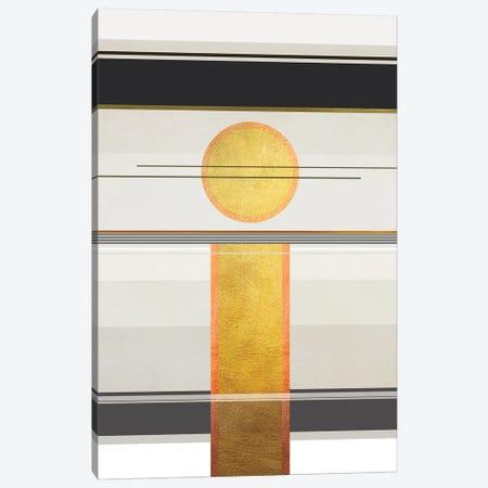 Geometric Trippy Landscape 2 3-Piece Canvas #GNZ104} by Marco Gonzalez Canvas Print