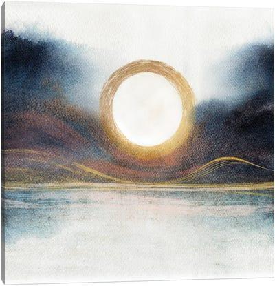 Abstract Mountains III Canvas Art Print