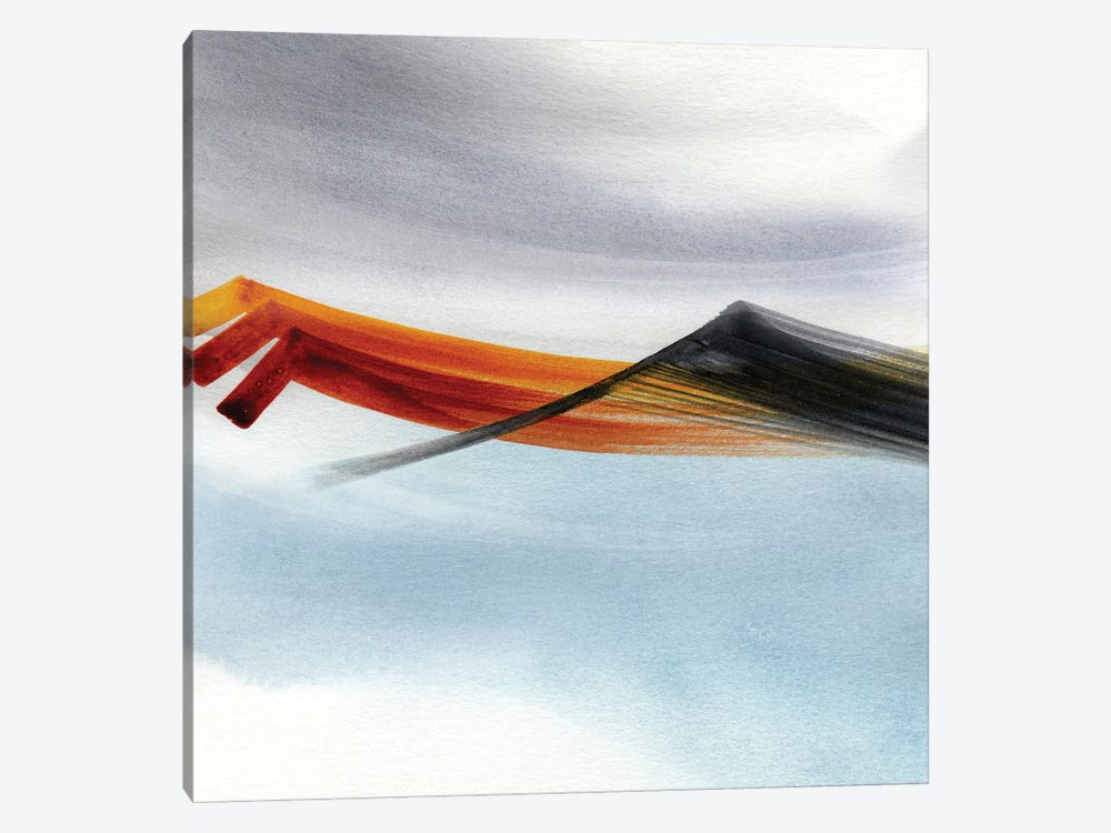 Abstract Mountains 5 by Marco Gonzalez 1-piece Canvas Art