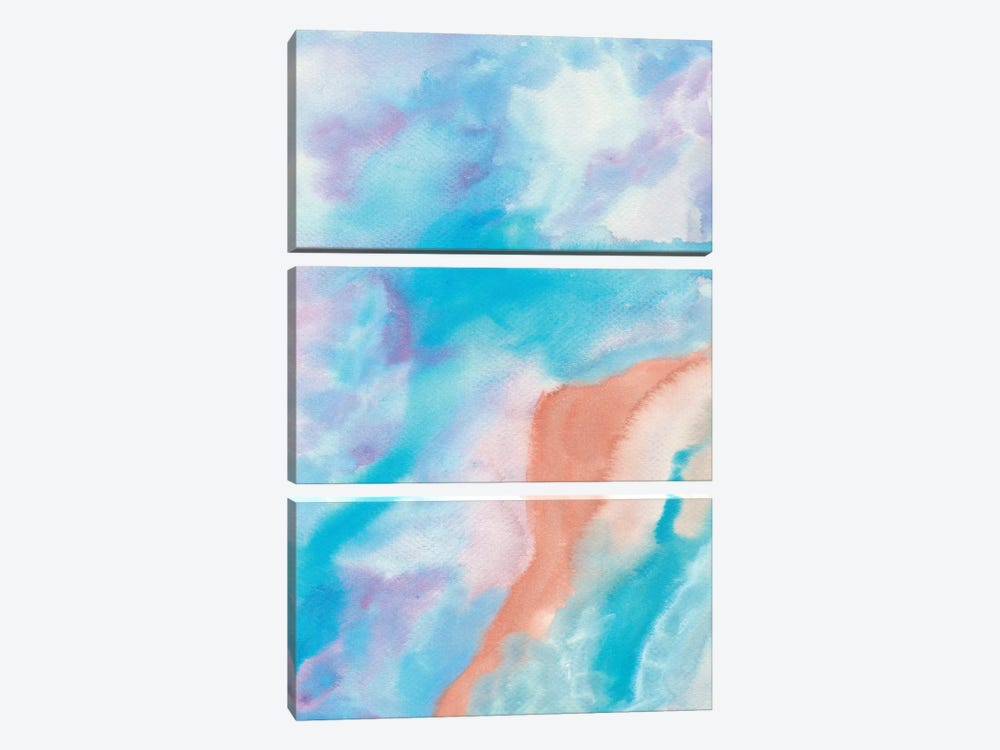 Abstract X by Marco Gonzalez 3-piece Canvas Wall Art