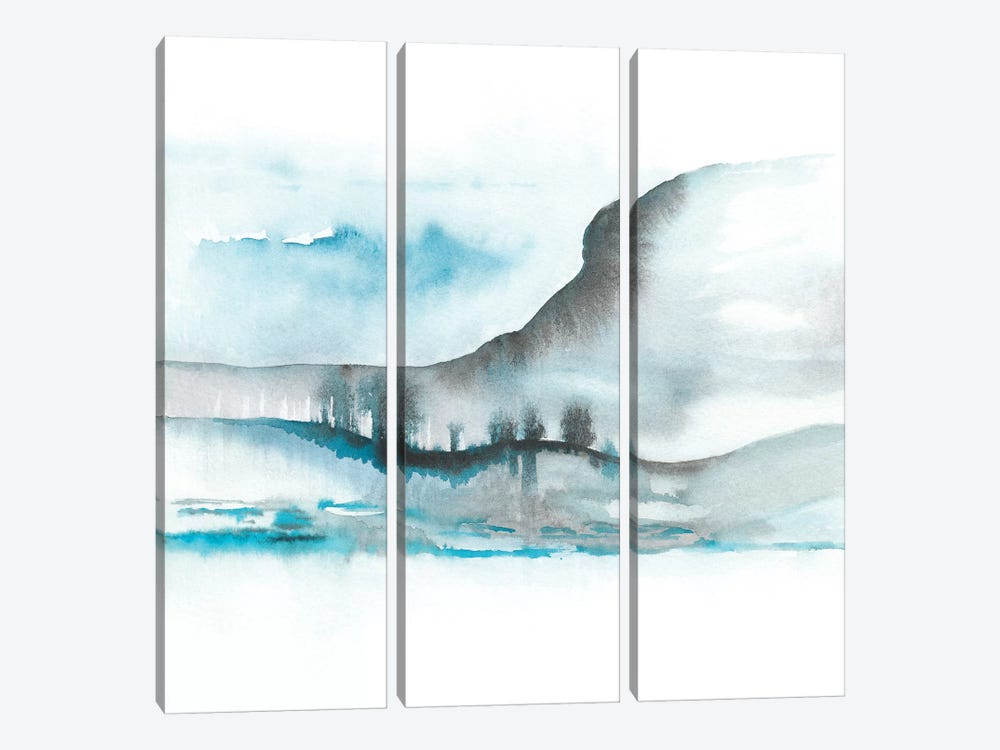 Abstract XIV by Marco Gonzalez 3-piece Canvas Wall Art