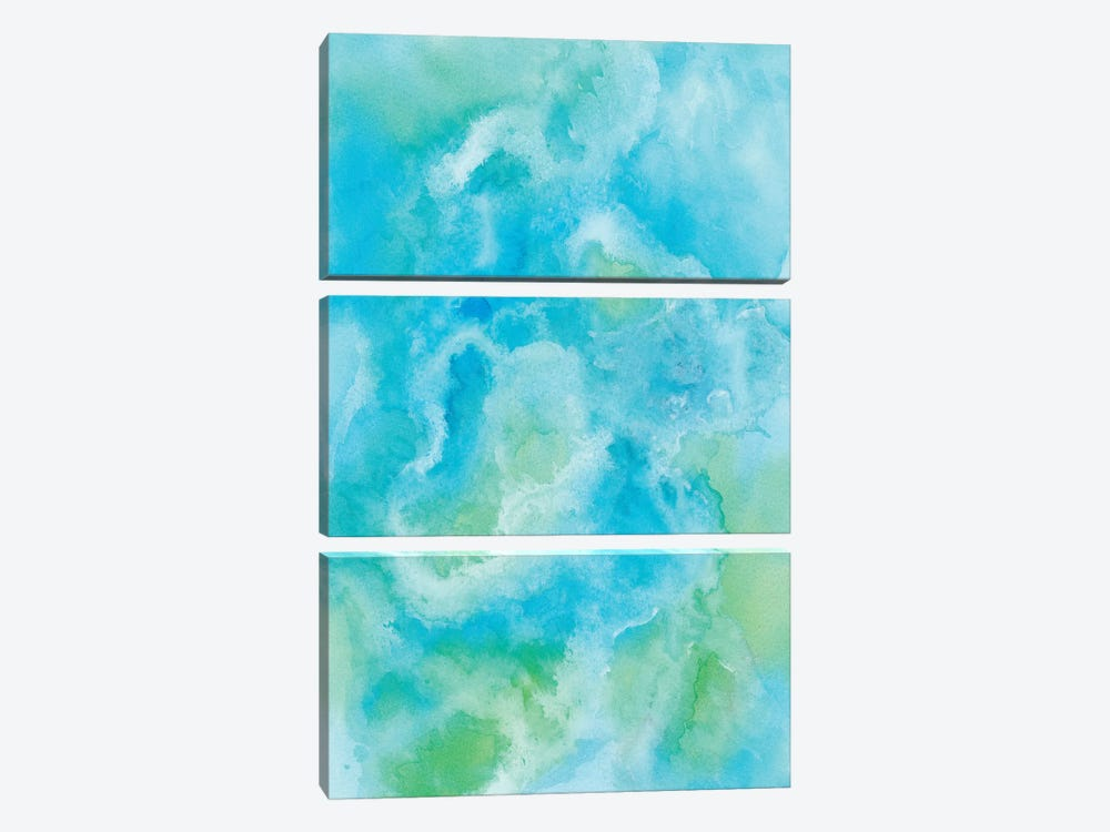 Abstract XV by Marco Gonzalez 3-piece Canvas Art Print