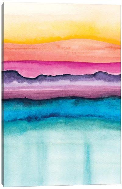 Abstract XVI Canvas Art Print