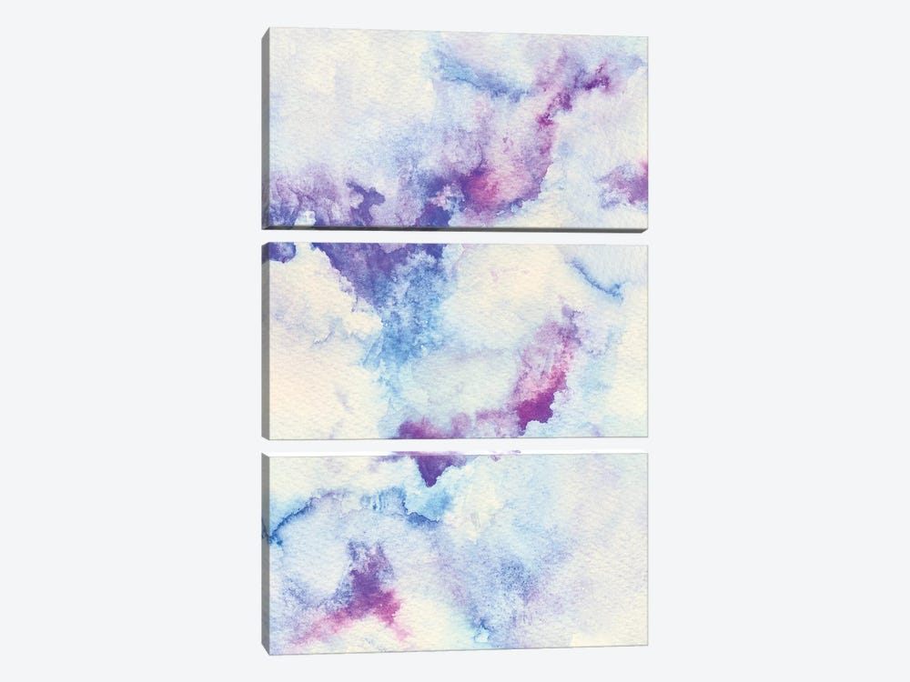 Abstract I by Marco Gonzalez 3-piece Canvas Print