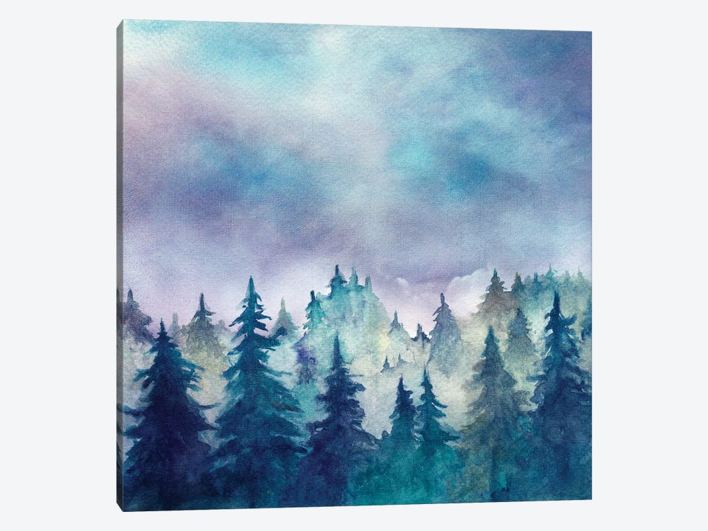 In The Forest I by Marco Gonzalez 1-piece Canvas Art
