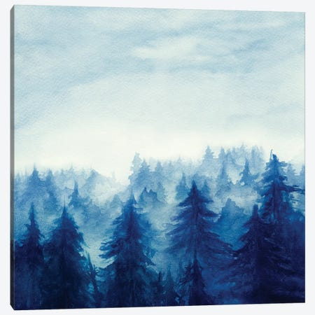 In The Forest II Canvas Print #GNZ28} by Marco Gonzalez Canvas Wall Art