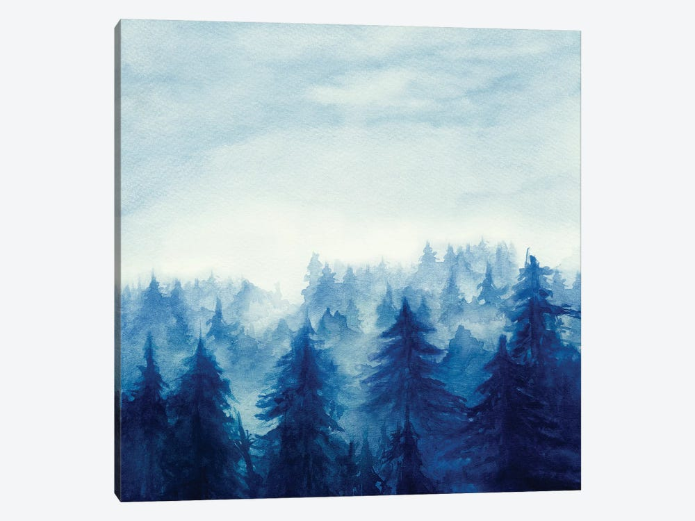 In The Forest II by Marco Gonzalez 1-piece Canvas Art Print