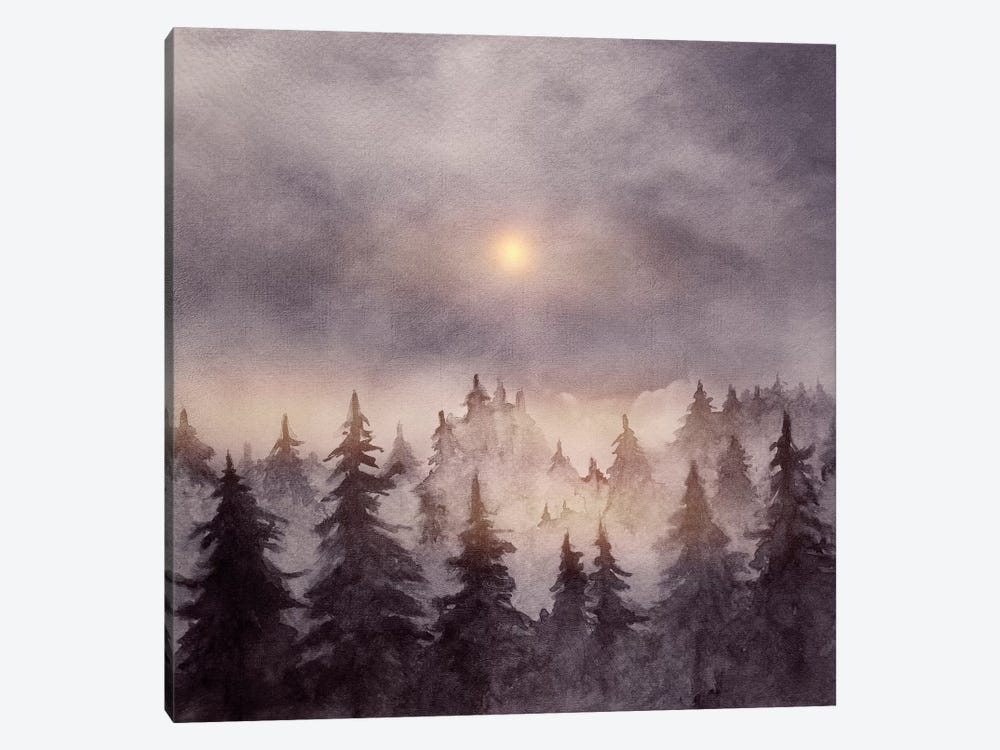 In The Forest III by Marco Gonzalez 1-piece Canvas Art