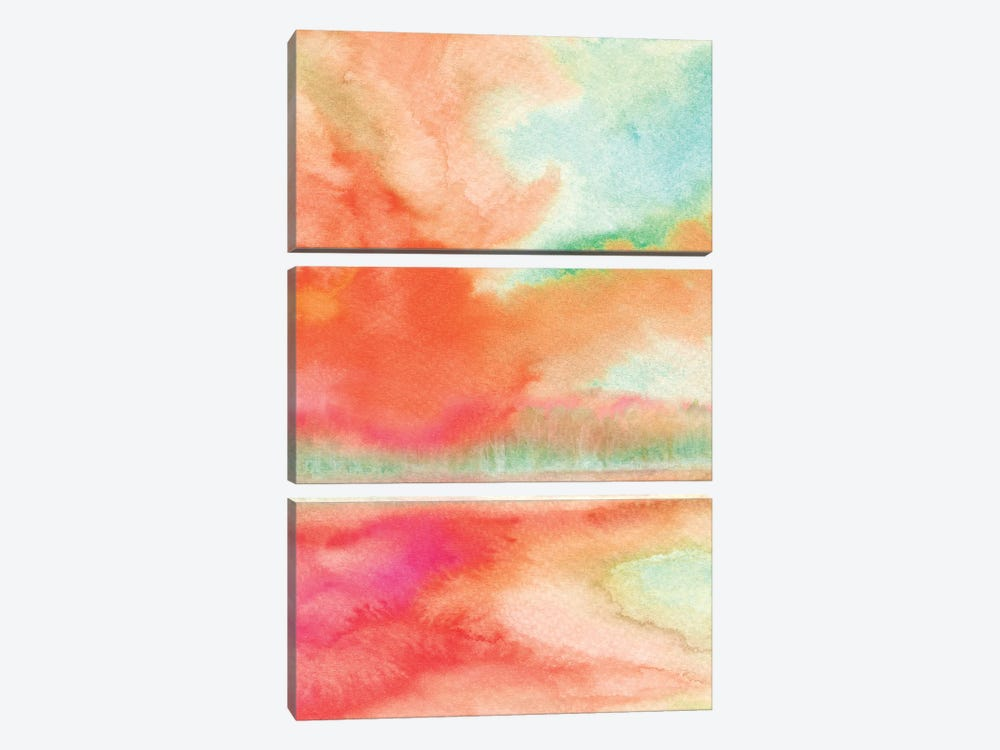 Abstract II by Marco Gonzalez 3-piece Canvas Wall Art
