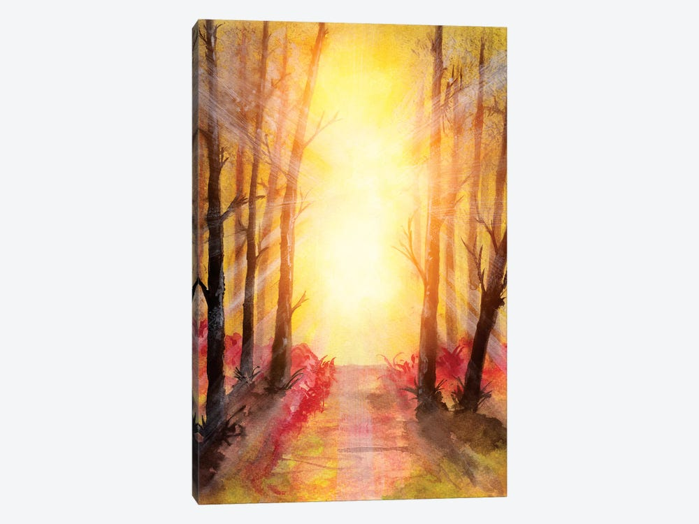 In The Forest V by Marco Gonzalez 1-piece Canvas Art Print