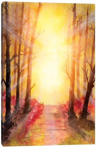In The Forest V Canvas Art Print