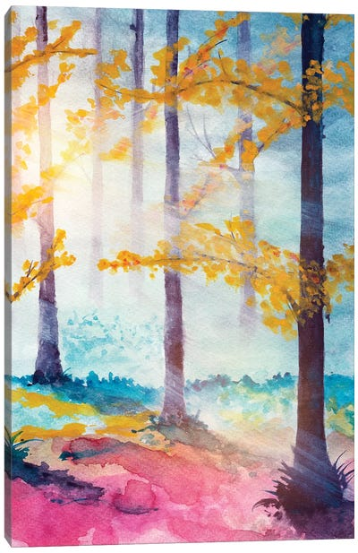 In The Forest VI Canvas Art Print