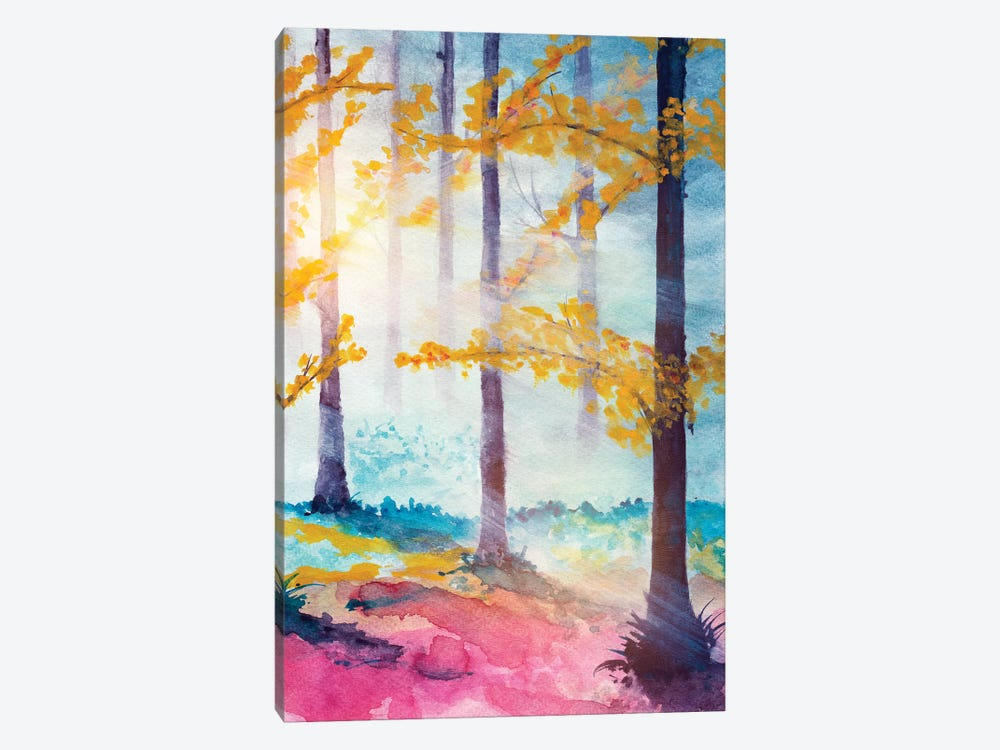 In The Forest VI by Marco Gonzalez 1-piece Canvas Wall Art