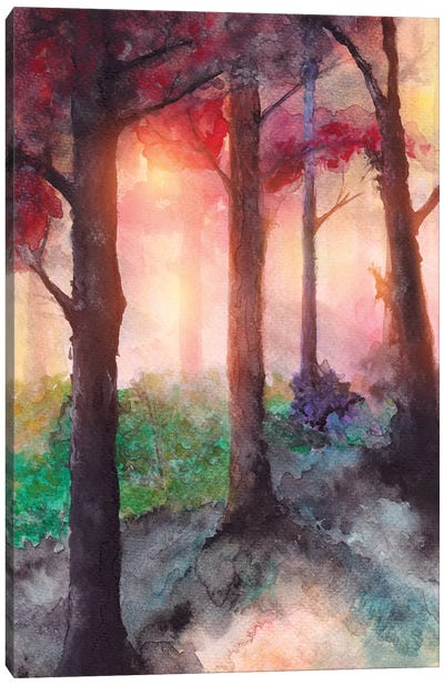 In The Forest VII Canvas Art Print