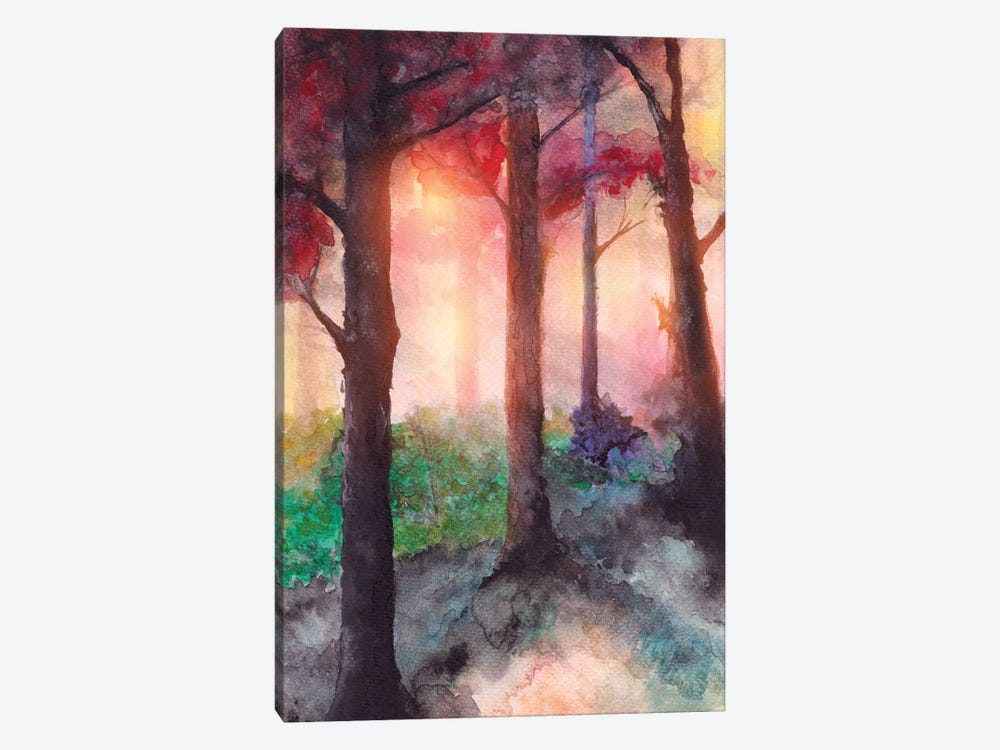 In The Forest VII by Marco Gonzalez 1-piece Canvas Print
