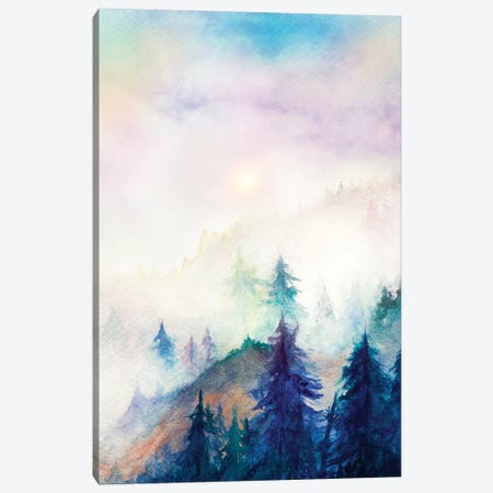 Into The Mist Canvas Print #GNZ34} by Marco Gonzalez Canvas Art