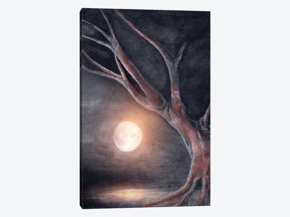 The Moon by Marco Gonzalez 1-piece Canvas Print
