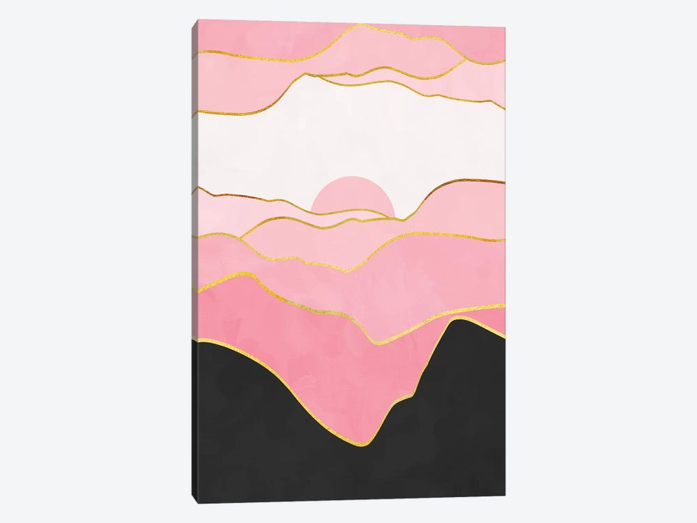 Minimal Landscape II 1-piece Canvas Art