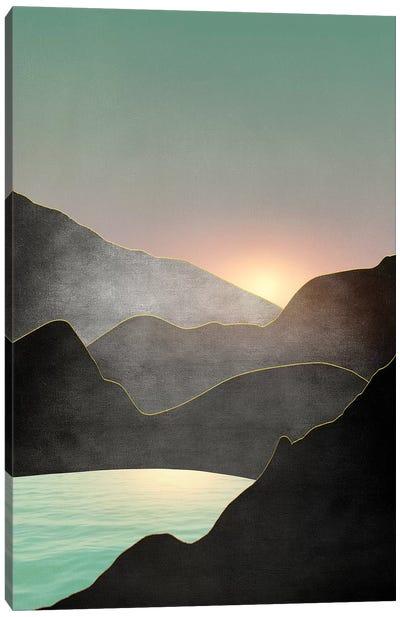 Minimal Landscape III Canvas Art Print