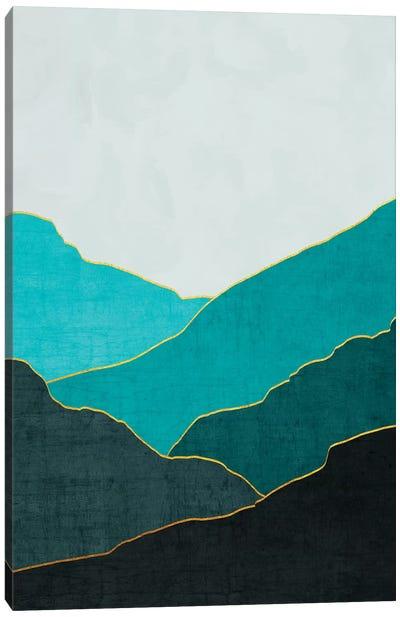 Minimal Landscape IV Canvas Art Print