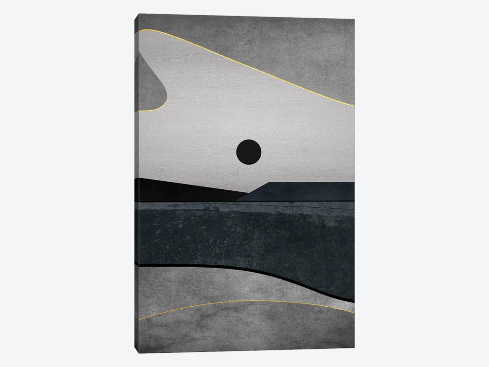 Minimal Landscape IX 1-piece Canvas Art
